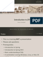 Introduction to Jpa