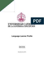 Learner Profile