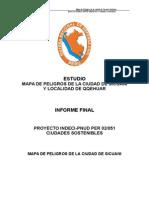 Informe Final Mapa de Peligros Sicuani Localidad de Qqehuar