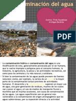 LA contaminacion del agua.pptx