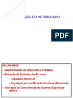 Regulacao Do Metabolismo