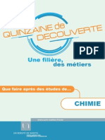 Programme prof chimie