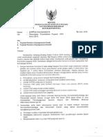 Penundaan Penambahan Pegawai TA.2015