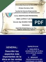 La Ética y Las Ventas - Tamayo & Fausten