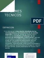 INFORMES TECNICOS