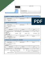 Formulario Unico de Edificacion Anexo a Datos de Condominos Persona Natural