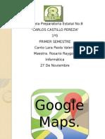 Power Point Google Maps.