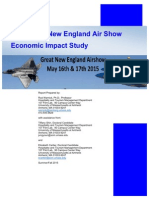 Study of economic impact of Great New England Air Show at Westover Air Reserve Base, Chicopee