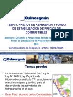 Tema 4. Precios Referencia - Fondo de Combustibles -Final