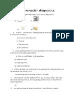 Evaluación diagnostica b3