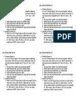 Soal Latihan Dokep Kelas Xi