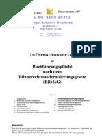 BilMoG-Buchführungspflicht -15-12-2009