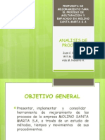 Diapositivas Analisis de Proceso