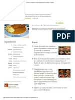Conejo a La Manteca en Salsa Receta de Carme Castillo - Cookpad