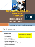 Sesion 1 Adm. Personal - Ing. Industrial