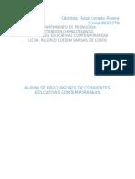 Album de Corrientes Educativas
