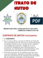 Contrato de Mutuo Peru 2015