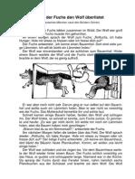 Wieder Fuchs Den Wolf Ueber List Et