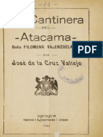 La Cantinera Del Atacama, Doña Filomena Valenzuela G. (1922)