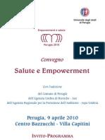Convegno Salute e Empowerment