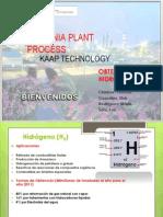Obtención de Hidrógeno. Procesos Químicos