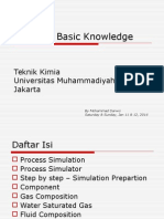 Hysys Basic Knowledge