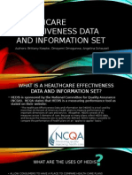healthcare effectiveness data and information set ppt group 5 module 4