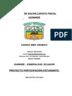 Proyecto Participación Estudiantil CBFQ