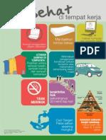 Poster Sehat Tempat Kerja