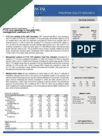 2015 URC Earnings Report