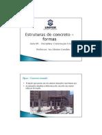 09 - Estruturas de Concreto -Formas