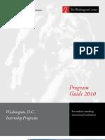 International Program Guide Spring 2010