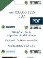 ARTICULOS 122-132