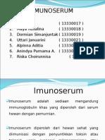 PPT IMUNOSERUM