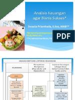 Analisis Keuangan MK Nutrition Entrepreneurship 4 Maret 2015 Edit