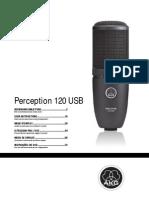 AKG p120usb Manual