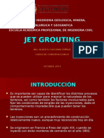 Sistema Jet Grouting Terminado