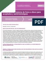 Desarrollo Del Sistema de Freno a Disco Para Acoplados y Semirremolques
