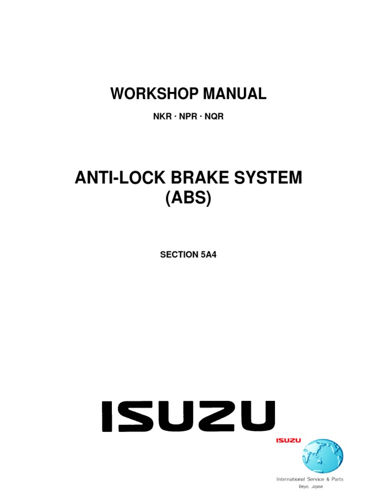 Isuzu_N-Series__Elf__Workshop_Manual_-_Section_5A4_-_Anti