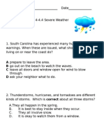 4-4.4 Severe Weather