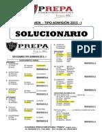 EXAMEN TIPO ADMISION CON SOLUCIONARIO