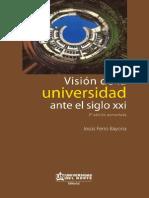 Vision Del a Universidad an Teel Siglo Xxi