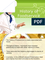 History of Foodservice