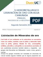 Duoc_ 6.26 Pim4101_procesos Hidrometalurgico de Lixiviacion de Oro