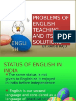 Problems of Teaching English