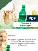 Chapter 4 Beverages