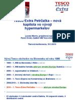 TescoEXTRA to Petrzalka SJ