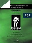 2015 Harry Gordon Australian Sports Journalist of the Year