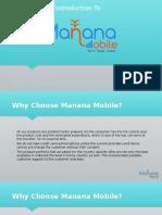 Manana Mobile International SIM Card