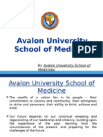 Avalon University School of Medicine